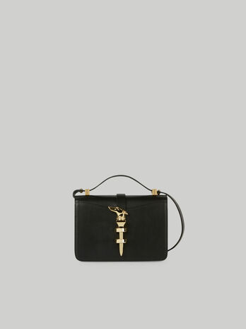 Small leather Leila crossbody bag