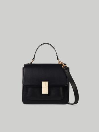 Handle bag Lione medium in similpelle