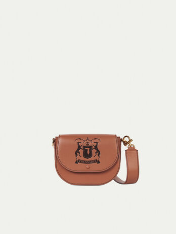 Borsa tracolla small in pelle