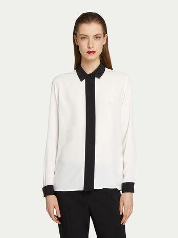 online store 9b31b bd7f7 Camicie di seta da donna | Trussardi ®