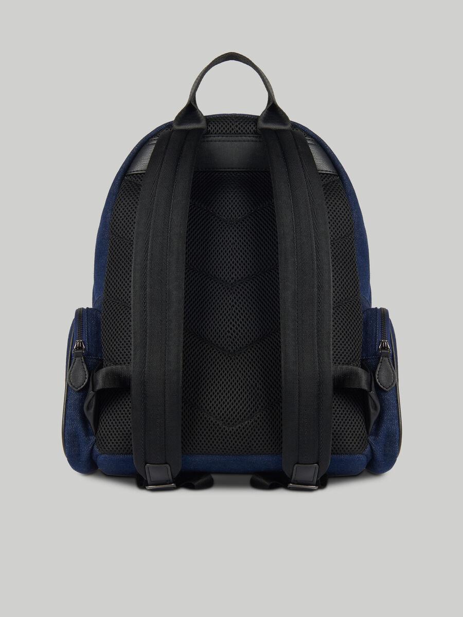 Denim Urban backpack with pockets
