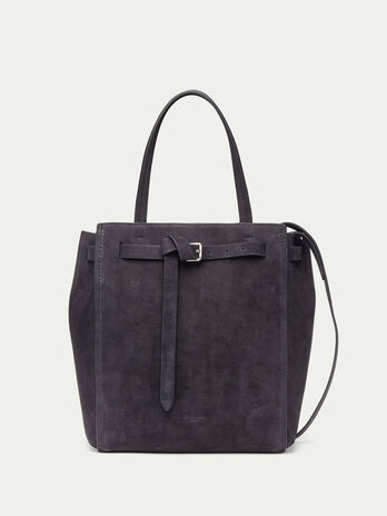 Medium Gita tote bag in nappa nubuck