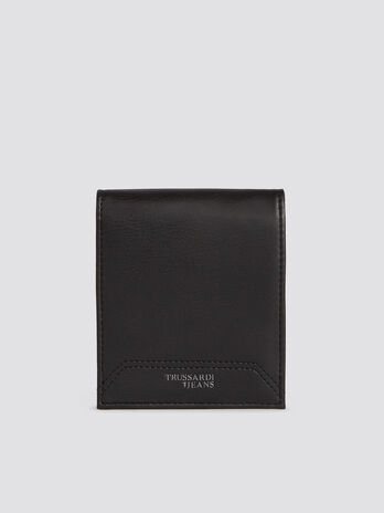 Business Affair wallet in monochrome faux leather