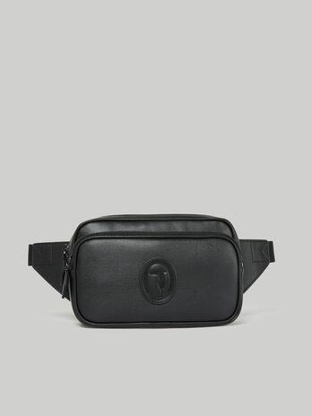 Medium Urban belt bag in faux saffiano leather