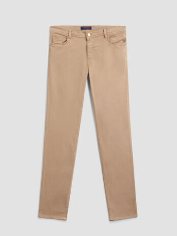Skinny 105 trousers in soft stretch satin