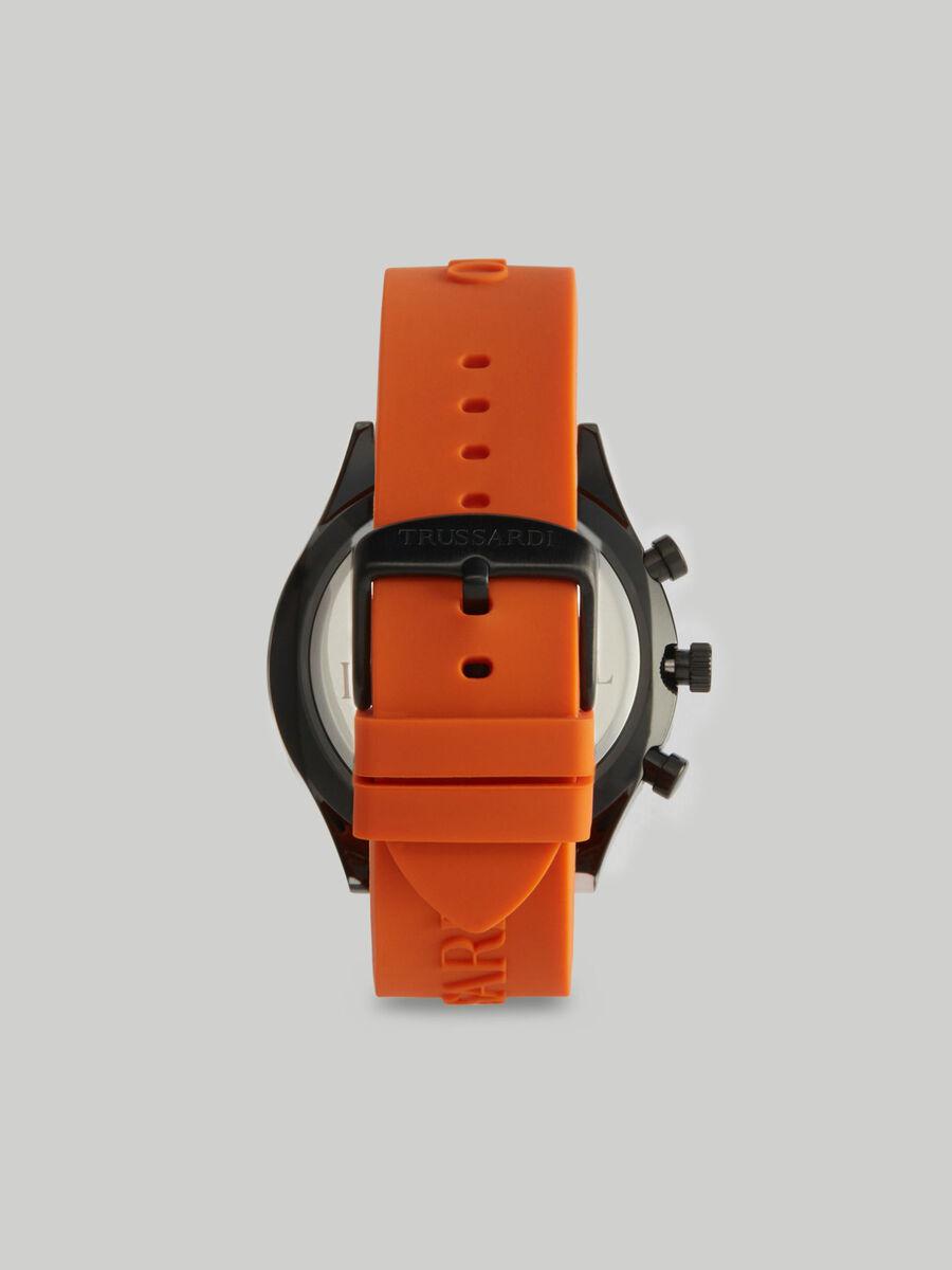 Orologio T-Logo 45MM con cinturino in silicone