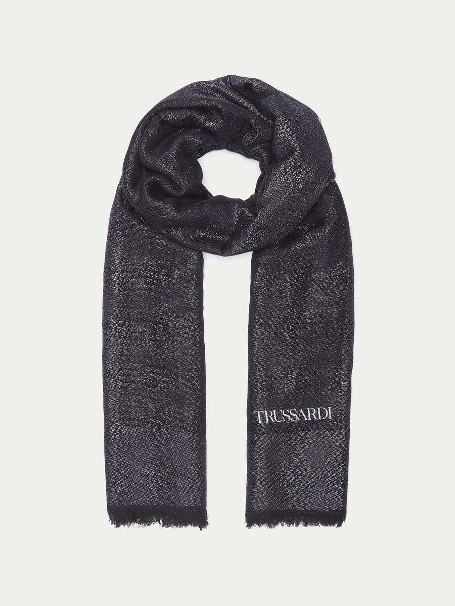Lurex scarf