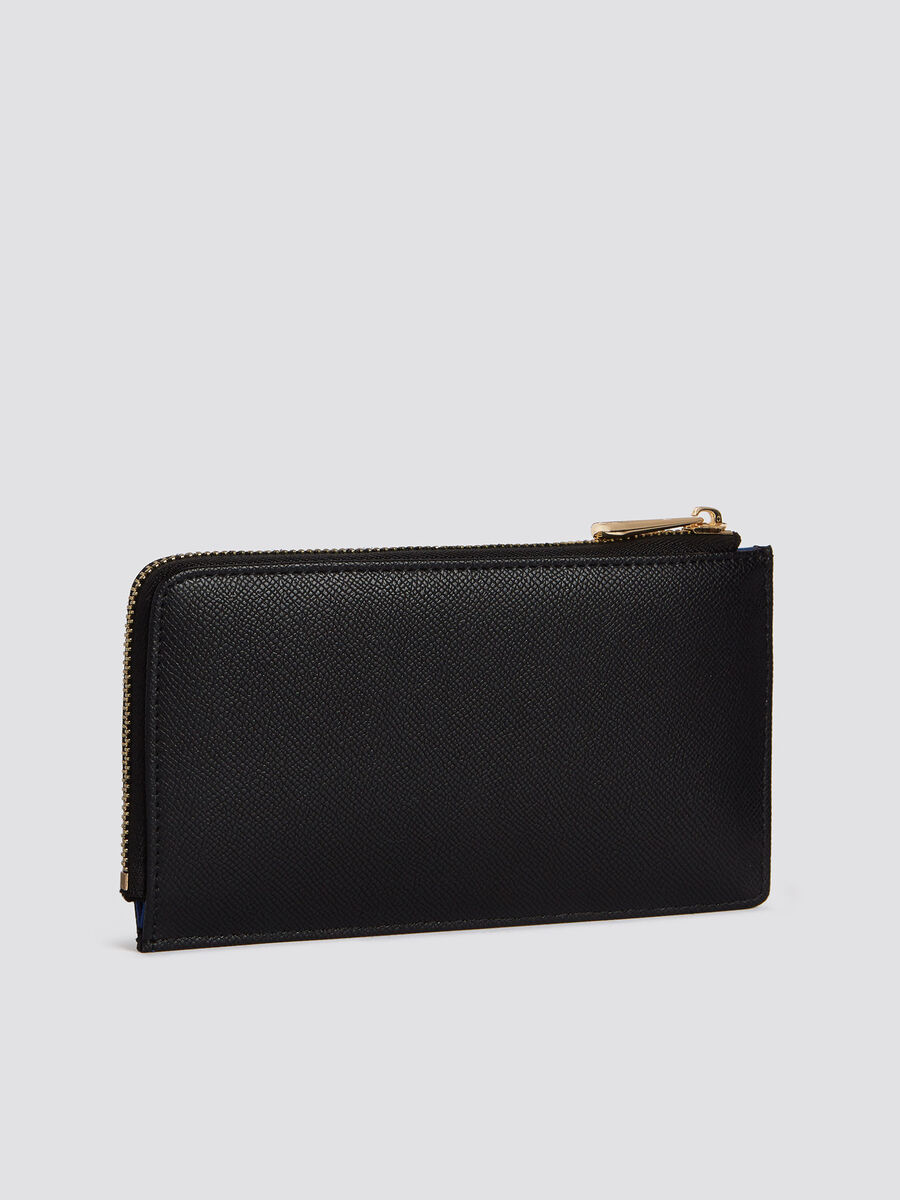 Medium light T-Easy purse in faux leather with zip