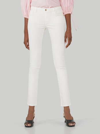 Regular-fit gabardine 260 trousers