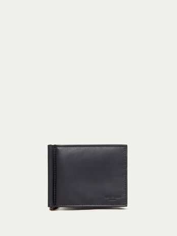 Urban wallet with money clip