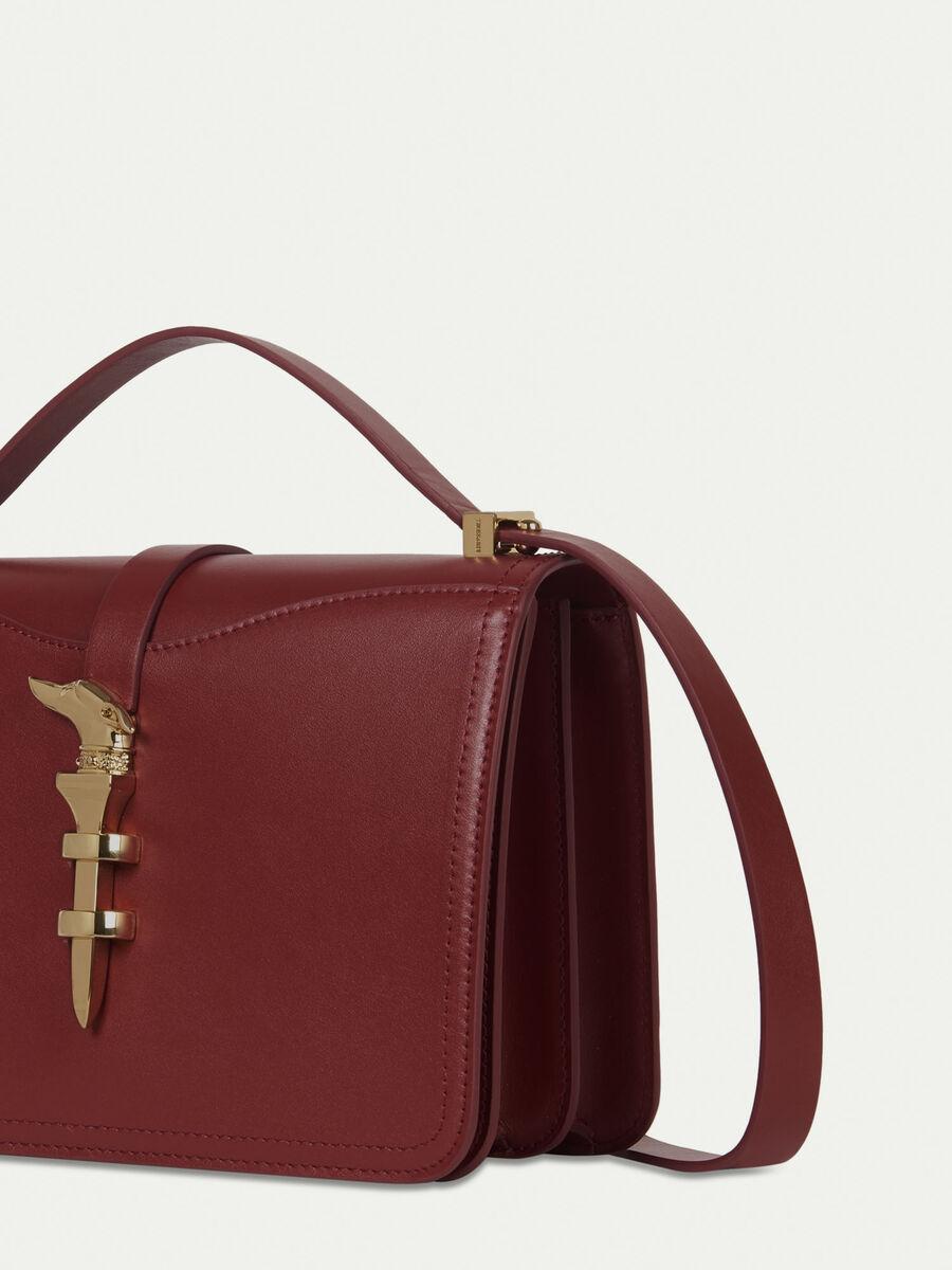 Medium leather Leila Cacciatora bag
