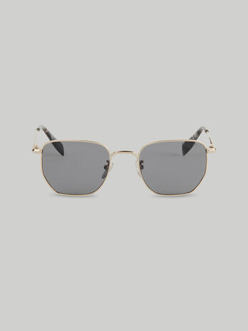 Gafas de sol rectangulares de metal