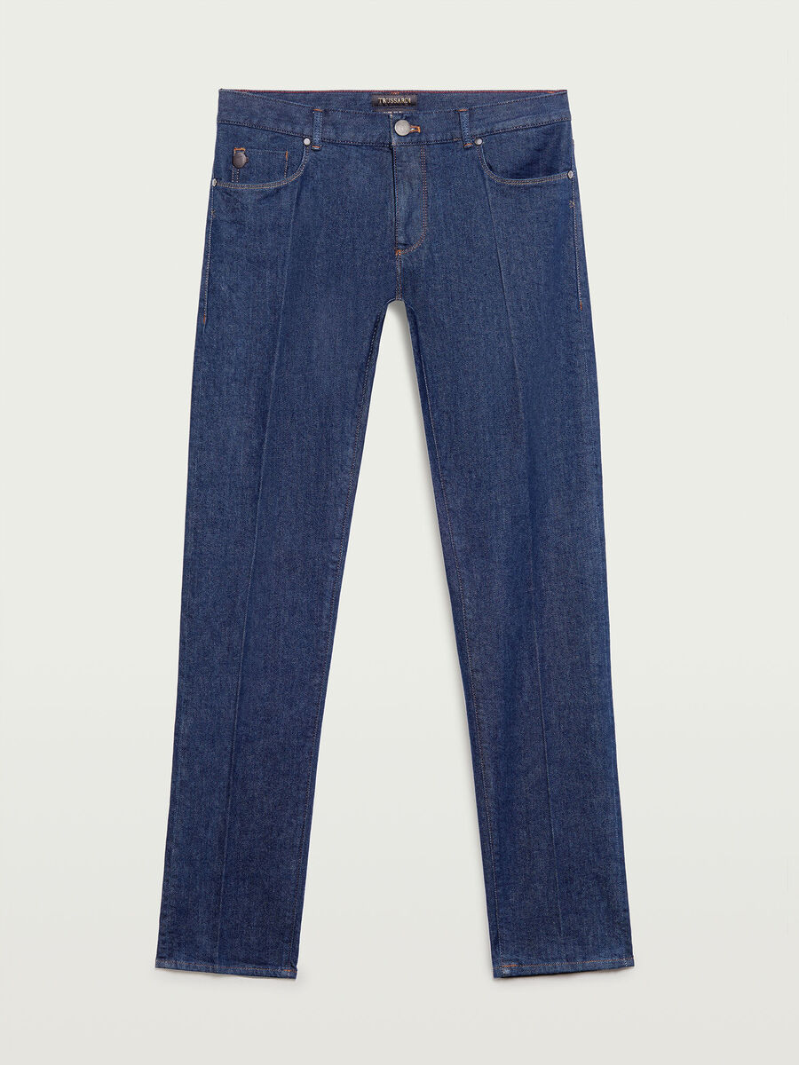 370 close rinse washed Jeans