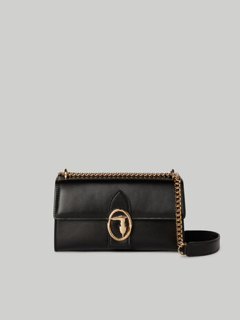 Tasche Grace Medium aus glattem Kunstleder