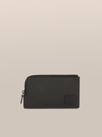 Large Business card holder in Crespo leather