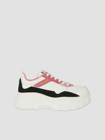 Suede and leather Chorisia sneakers