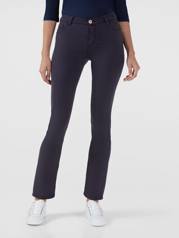 Classic 130 jeans in soft stretch gabardine