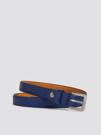 Ceinture Entry Level en cuir a passant
