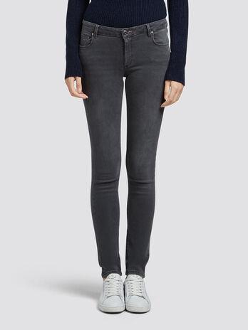 Regular fit washed jeans