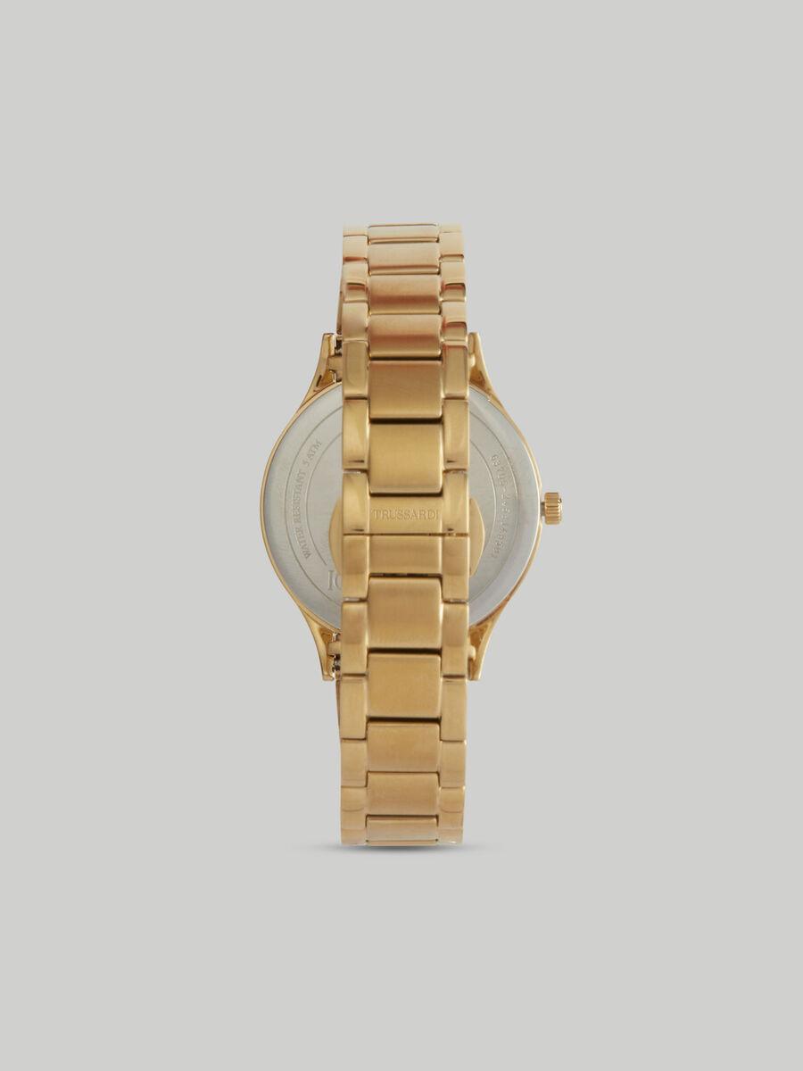 Reloj Gold Edition 34MM con pulsera de acero