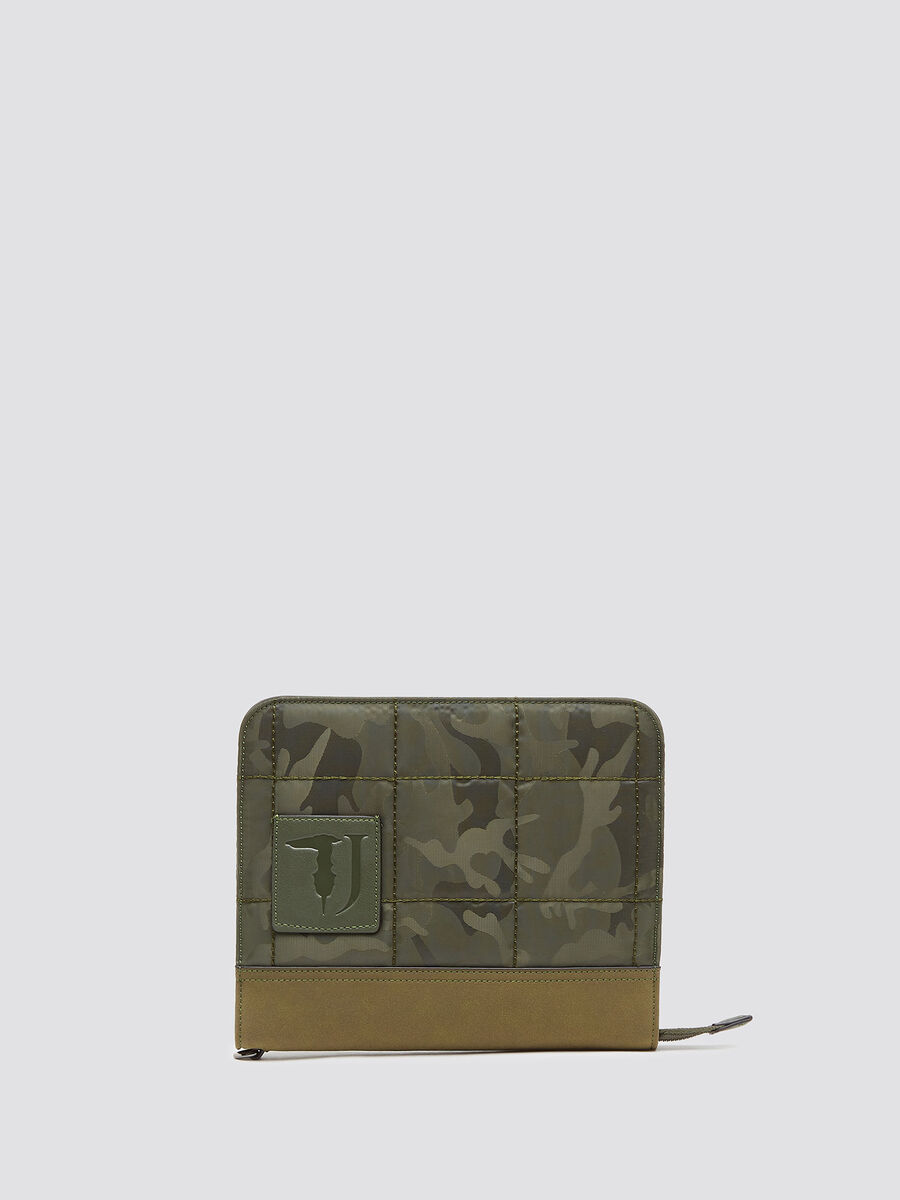 Ticinese camouflage pouch bag