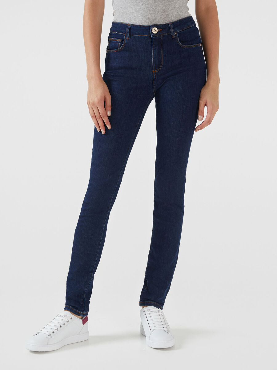 Regular fit 260 jeans in stretchy Kate denim