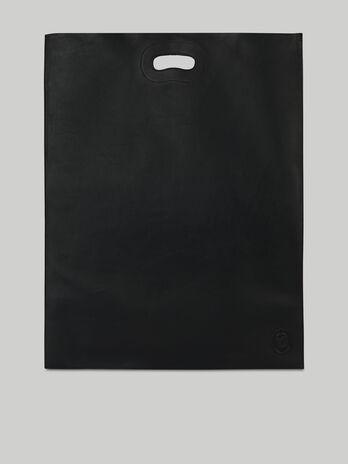Shopper bag Trussardi Nuwev in nappa monocolore