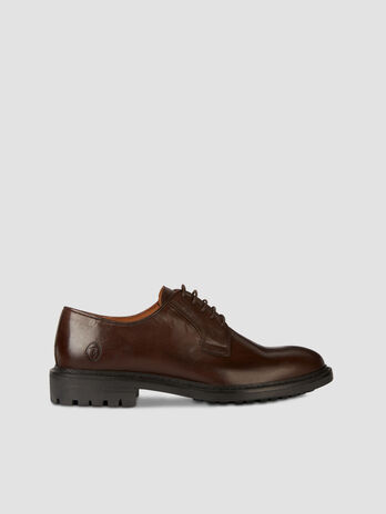 Smooth leather Derby shoes