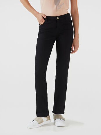 Classic 130 jeans in black Diego denim