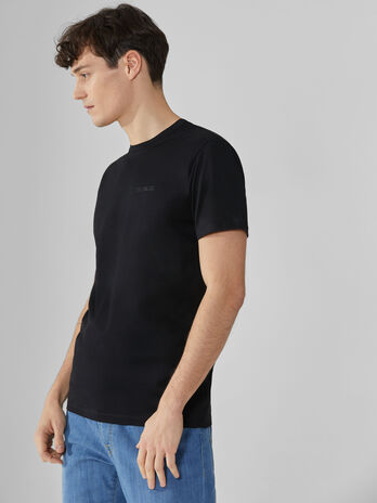 Regular-fit T-shirt in cotton jersey