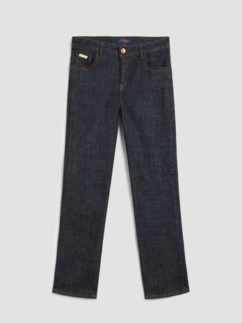 Jeans Kick aus elastischem Cross Denim