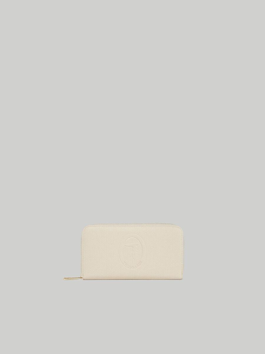 Iris continental purse in faux deerskin