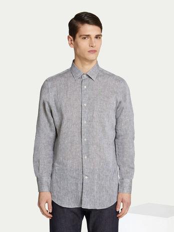 4185e97515 Camicia regular fit in cotone effetto denim