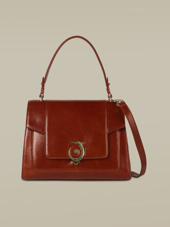Regular-size New Lovy leather handbag