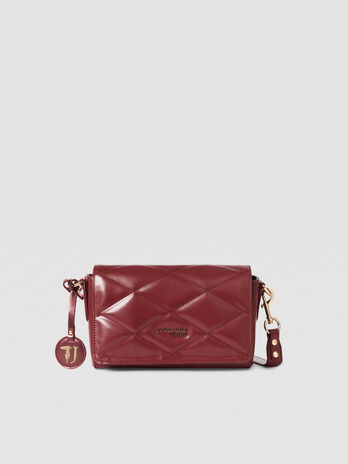 Medium T-Easy Cacciatora bag in faux leather
