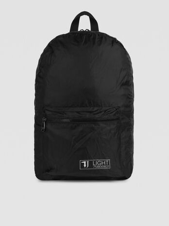 TJ Light backpack in solid colour nylon