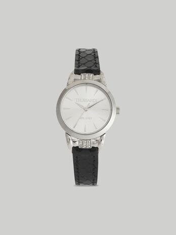 Armbanduhr T-Original 28MM mit Lederarmband
