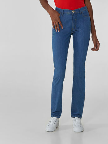 Skinny-Jeans 105 aus Superlight-Denim