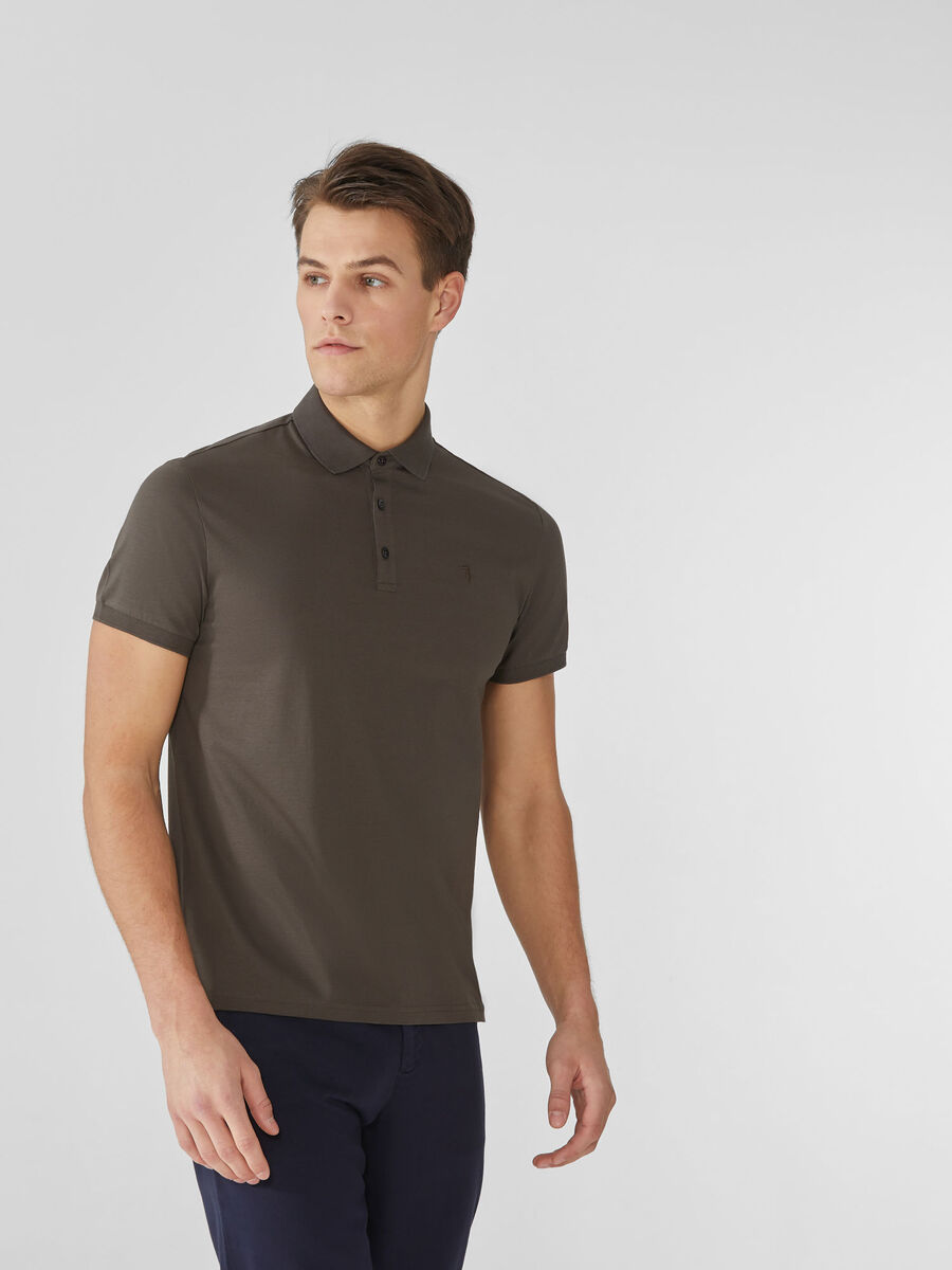 Polo regular fit in cotone