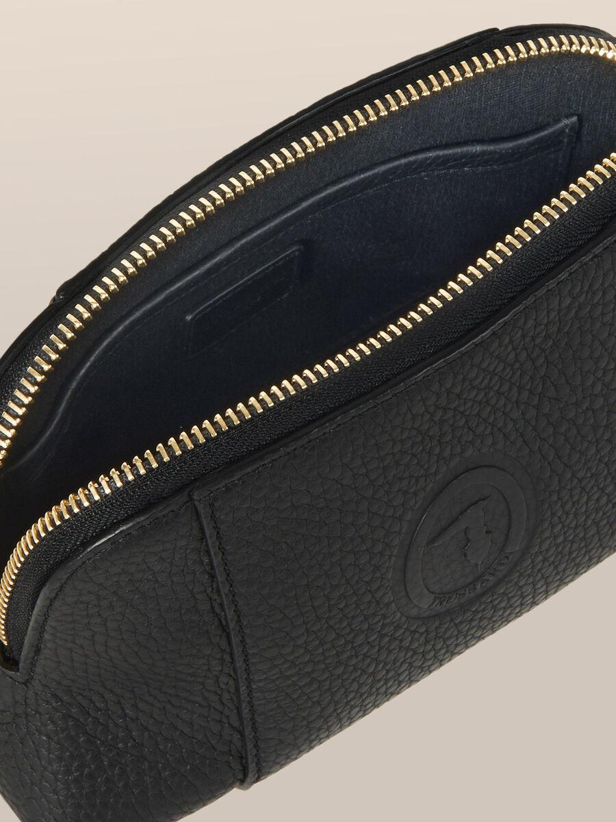 Medium Olivia toiletry bag in Elite leather