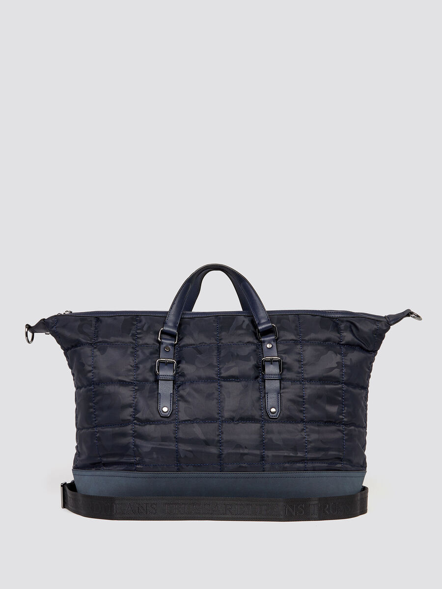 Ticinese camouflage travel bag
