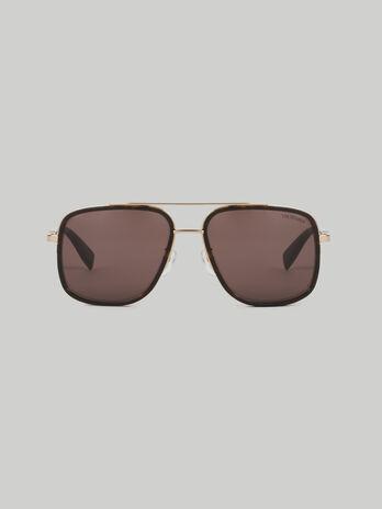 Gafas de sol de gran tamano rectangulares