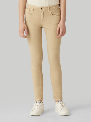 Pantalone 260 regular fit in gabardina