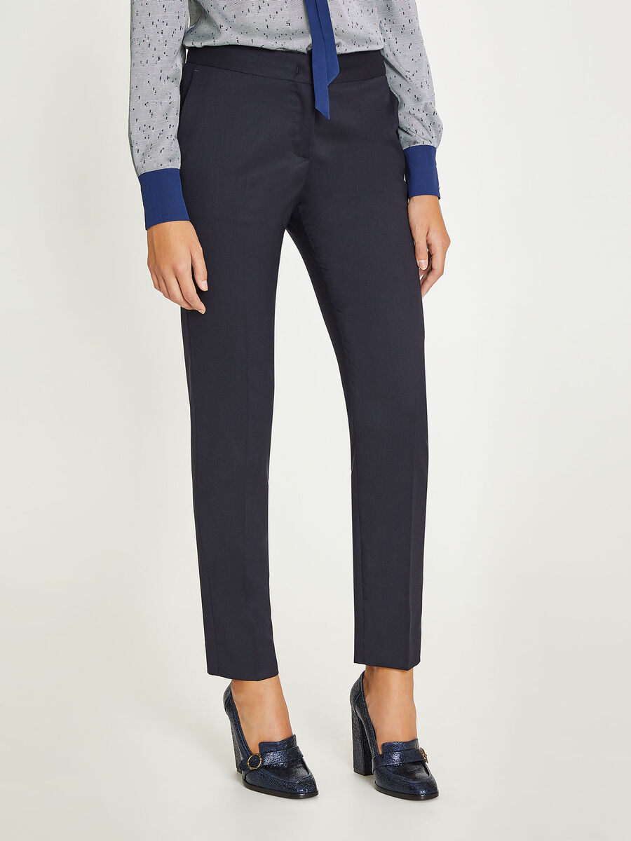 Pantalone in lana