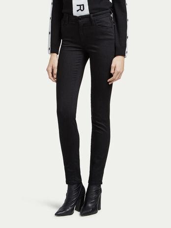 Jeans skinny fit a vita alta