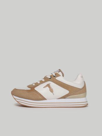 Sneakers Celtik avec empiecements en daim