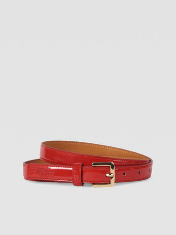 T-Easy Light belt in faux patent leather
