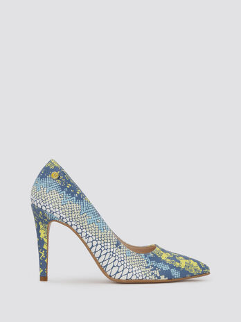 Pumps with python pattern