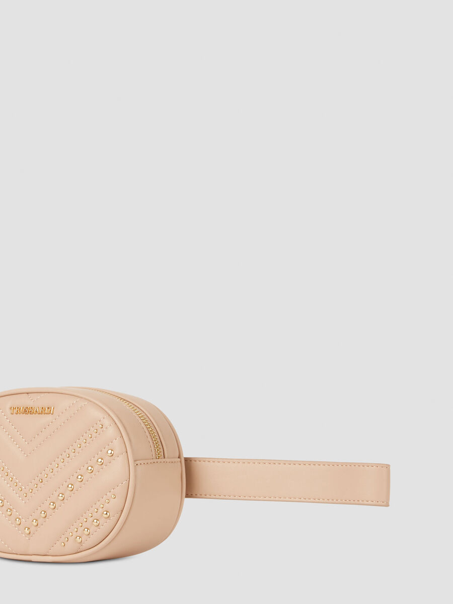 Berlino belt bag in smooth faux leather
