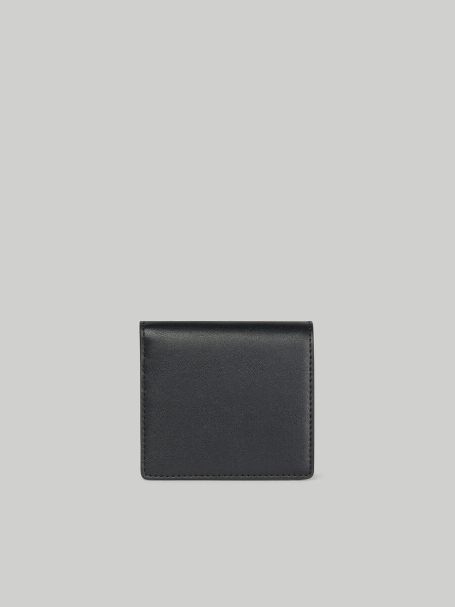 Smooth nappa leather wallet